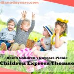 How A Children's Daycare Picnic Help Children Express Themselv