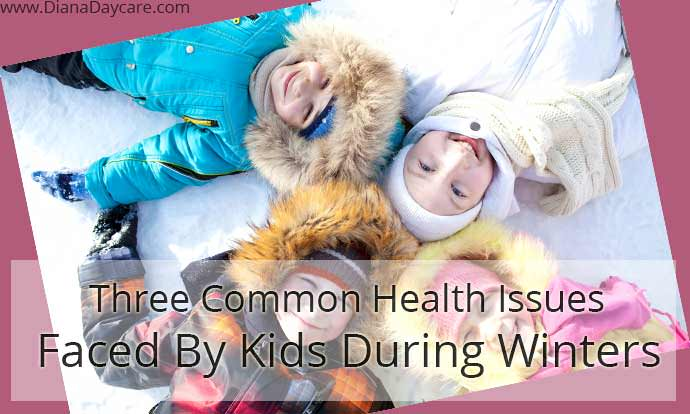 kids facing winter diseases