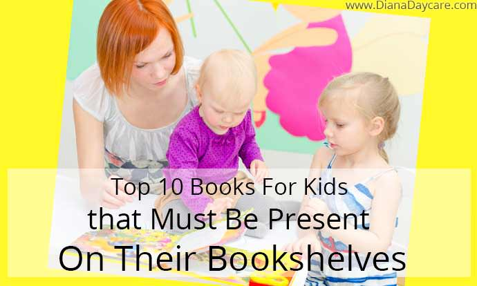 Top 10 Books For Kids that Must Be Present On Their Bookshelves