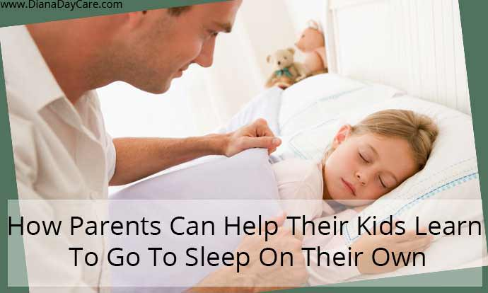How Parents Can Help Their Kids Learn To Go To Sleep On Their Own